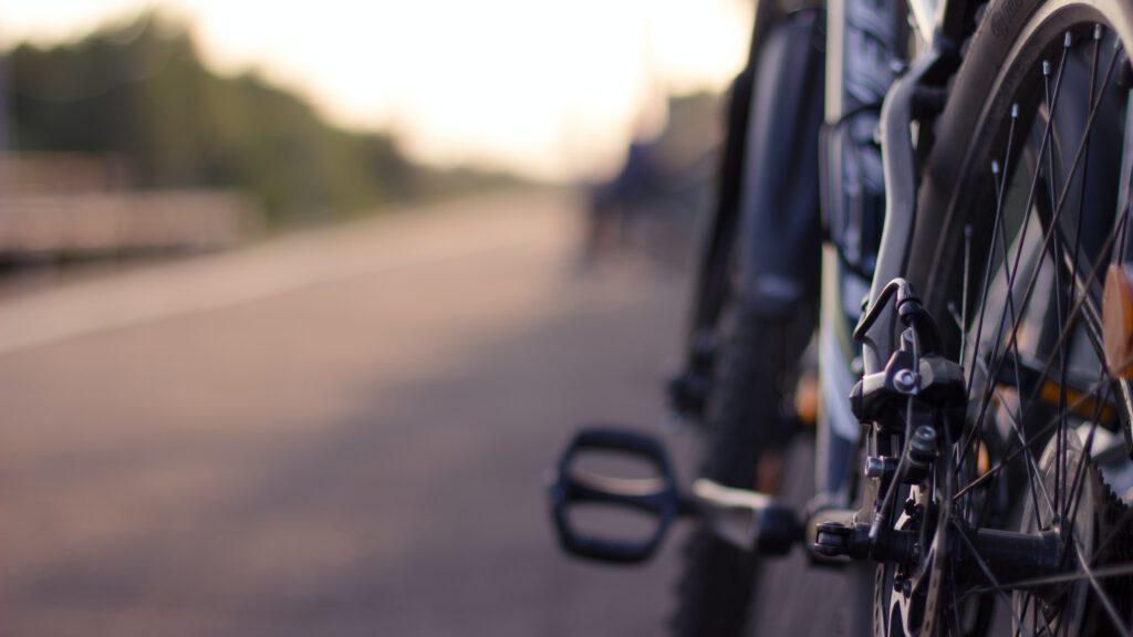 Fahrrad in Dornum - Dornumersiel
