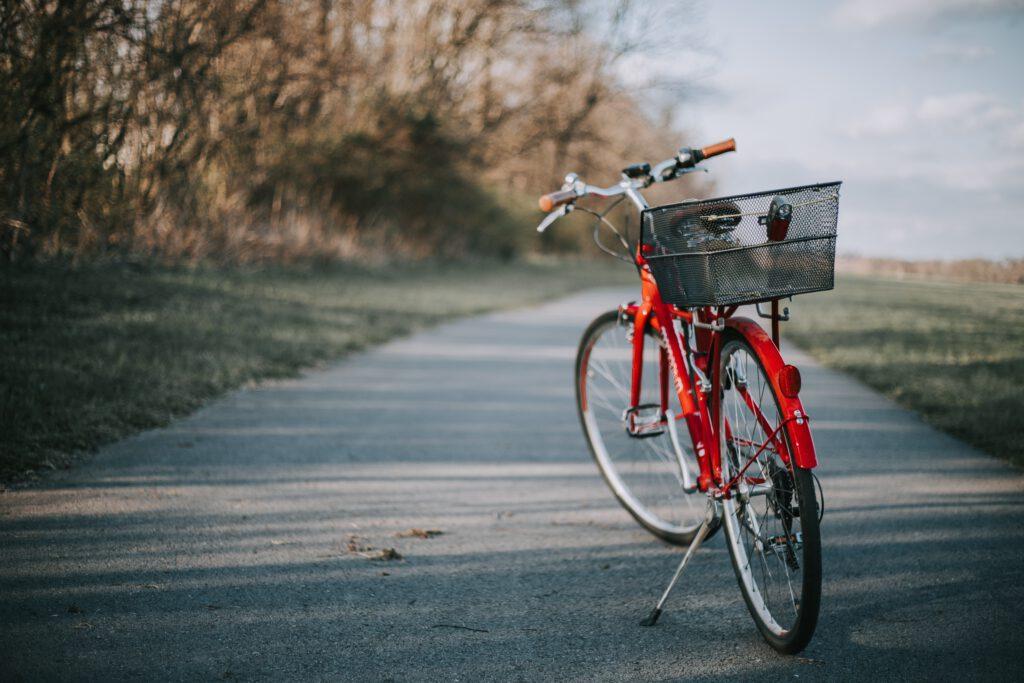 Fahrrad in St Peter-Ording fahren
