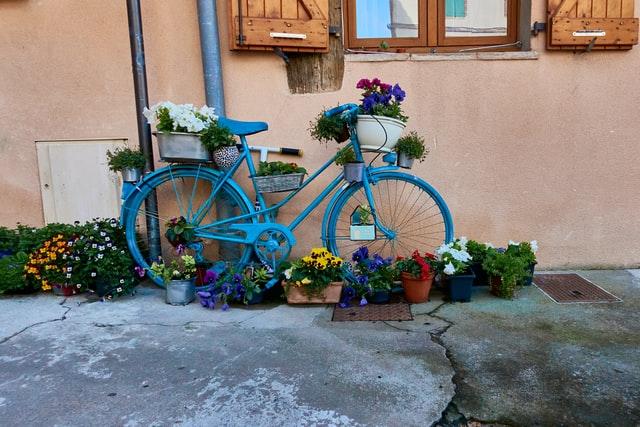 Fahrrad fahren auf Nordstrand