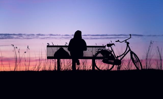 Nach einer Fahrradtour in Butjaden ausspannen