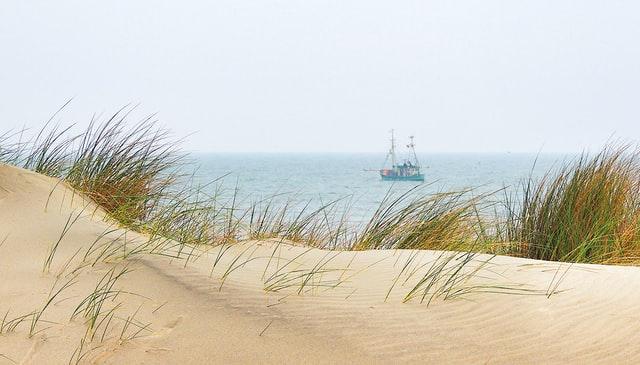 Radtour an den Strand von Föhr Wyk